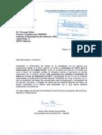Carta al Director del CIBERER