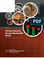 Mining Industry Energy Bandwidth