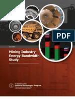 Mining Industry Energy Bandwidth