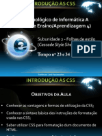 Aula CSS
