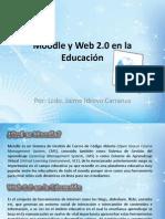 Moodle y Web 2