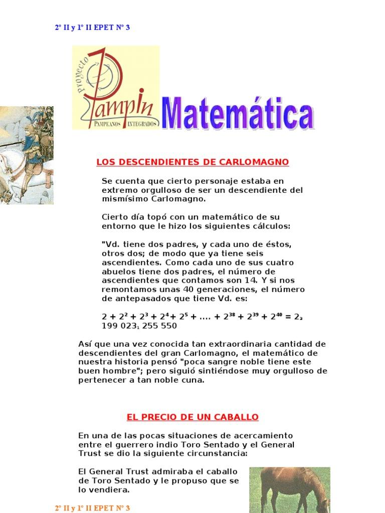 Acertijos - Matematicas