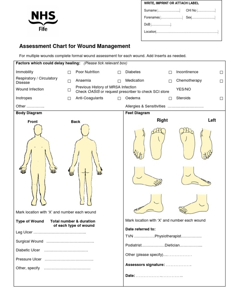 Nhs fife assessment chart for wound management wound clinical nhs fife assessment chart for wound management wound clinical medicine nvjuhfo Choice Image