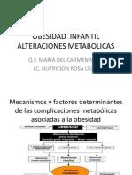 Nutrición en obesidad infantil