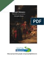 Alexandre Dumas - Memórias de um médico 1 - José Bálsamo 3