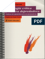 Pedagogía crítica y cultura depredadora de Peter Mc Laren
