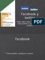 Facebook y Twiter