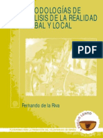 Metodologias de Analisis de La Realidad Global y Local
