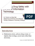 improving  drug safety with the use of information