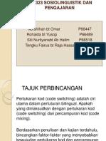 Pertukaran Kod & Percampuran Kod ( 3 Nov 2012)