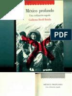 México Profundo, Una Civilización Negada. Guillermo Bonfil Batalla (Texto Completo)
