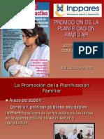Promocion de La Planificacion Familiiar - Estrategias Comunitarias