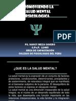 Promoviendo La Salud Mental