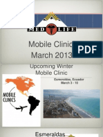 March 2013 Pre-Trip Presentation