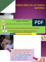 Consejeria en Lactancia Materna
