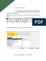 Como Crear Informes en Access Parte 1