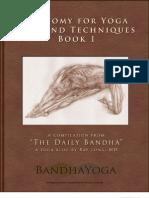 Anatomy for Yoga Book-1