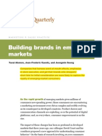 building brand in emerging market