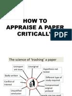 Appraise A Paper
