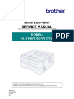 Brother hl-2140, hl-2150n, hl-2170w service manual