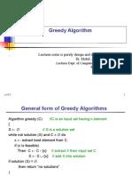 Greedy Method