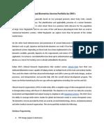 Advanced Biometrics Service Portfolio by CRO's