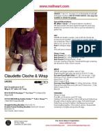 Claudette Cloche & Wrap