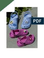 Crochet Button Trims for Crocs