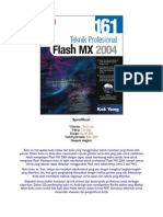 161 Teknik Profesional Flash MX 2004