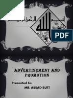 Advertisment Presentatin
