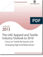 The UAE Apparel and Textile Industry Outlook 2016 - Focus on Re-Exports and Emerging High-End Retail Sector