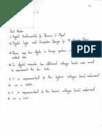 Digital Logic Design Lecture 1