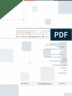 Newsletter Sociedad Española de Psiquiatría Legal, Enero 2013-una columna