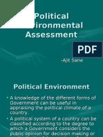 Political Environmental Assessment