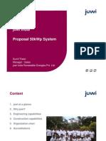 50kWp System Details REV II