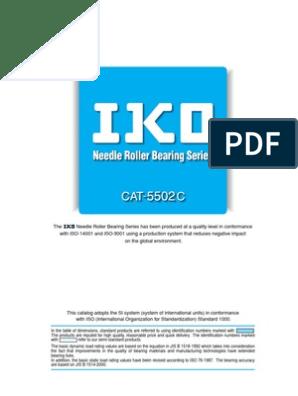 IKO TAF101712 Double Lip Machined Needle Roller Bearing Factory