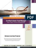 Certified Islamic Fund Manager Course Profile
