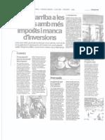 El 2013 arriba a les Balears amb més imposts i manca d'inversions (Con declaraciones de Jaume Xavier Roselló, presidente de PIMEM)
