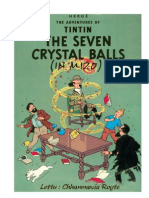 The Adventure of Tin Tin (Translated into Mizo by Chhanmawia Royte)