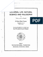 Home Study Course by Lao and Walter Russell - unit 1