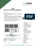 Strand Lighting Lbx Datasheet