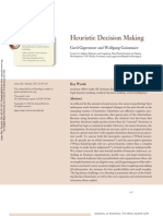 2011 Heuristic Decision Making