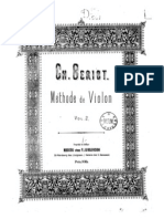 de Beriot violin method part II