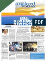 Manila Standard Today -- Tuesday (January 01, 2013) issue