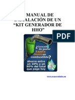 manual instalacion kit hho