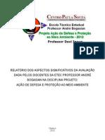 Avaliação PADPMA_2012