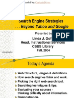 Search Engine Strategies Beyond Yahoo & Google