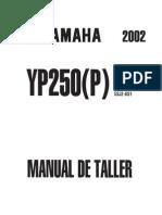 manual de taller y despiece de la yamaha yp250 majesty