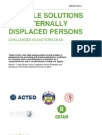 Durable Solutions for Internally Displaced Persons