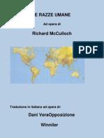 Le Razze dell'Umanità di Richard McCulloch